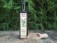 Olio di semi di canapa biologico - made in Italy - Lotto 2 bottiglie da 250 ml