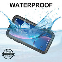 For iPhone XR XS Max XS Case Waterproof Shockproof Protective Heavy Duty Cover