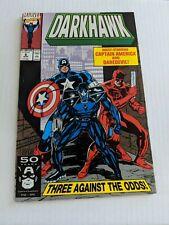 Darkhawk Comic No 6 Starring Captain America & Daredevil