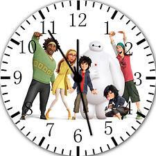 "Disney Big Hero 6 wall Clock 10"" will be nice Gift and Room wall Decor E10"