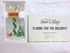 Dept 56 Snow Village A Home For the Holidays - 51659