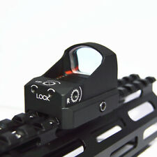 Tactical Red Dot 3 MOA Rifle Scope Sight with 20mm Picatinny Weaver Rail Mount
