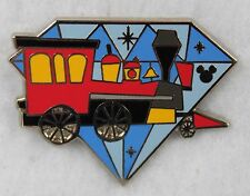 Disney DLR 2015 60th Hidden Mickey Pin Diamond 60th Railroad Train Engine