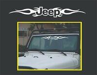 "Jeep 30"" Tribal window front car truck bumper vinyl sticker decal"