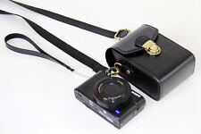PU leather camera bag case For Fujifilm FinePix XP120 black brown coffee pink