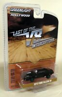 Greenlight 1/64 Scale '72 Ford Falcon XB Mad Max V8 Interceptors Green Chase Car