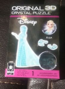 BePuzzled Original 3D Crystal Jigsaw Puzzle - Elsa Disney Frozen