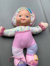 Goldberger Zip-Ity Do Dolly Soft Toy Doll Teaching Learning Cs1