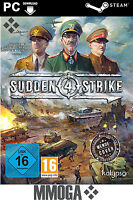Sudden Strike 4 - Steam Digital Download Key - PC Spiel Code [Strategie] DE/EU