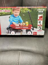 Radio Flyer My 1st Wagon Children Gift Steel Walker Durable Molded Play Red