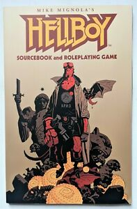 Hellboy Sourcebook and Roleplaying Game RPG (GURPS Steve Jackson Games 2002)