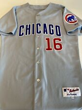 MAJESTIC Chicago Cubs ARAMIS RAMIREZ Authentic Gray #16 Stitched Jersey Sz 44
