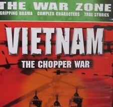 The War Zone - Vietnam: The Chopper War NEW! DVD,Rare Film Footage,War History