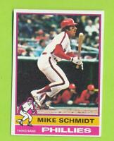1976 Topps - Mike Schmidt (#480)  Philadelphia Phillies    MS-2