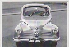 carte postale - RENAULT 4CV - GHIA 1956