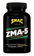 SNAC ZMA-5 Next Generation Recovery and Sleep Enhancement Formula, 90 Capsules