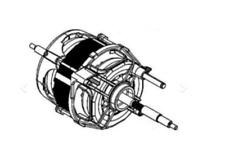 ELECTROLUX  DRYER MOTOR T76280AC EDC2086GDW  EDC2086PDW