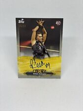 RHEA RIPLEY 2020 TOPPS RAW CHAMP WWE NXT ON CARD ROOKIE AUTO 24/25 NUMBERED!