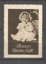 Mouson's Igemo Seife advertising stamp/label (B)