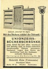 Bücherschrank Hubertus für Jäger Heinrich Zeiss Frankfurt a. F. Unionzeiss 1929