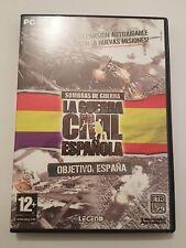 Sombras de guerra:La Guerra Civil Española OBJETIVO España Pc  completo