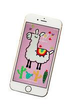 LLAMA Phone screensaver/wallpaper - fits all phones. DIGITAL download.