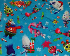 TROLLS GIFT WRAP WRAPPING PAPER ROLL CHRISTMAS HOLIDAY40 SQ. FEET