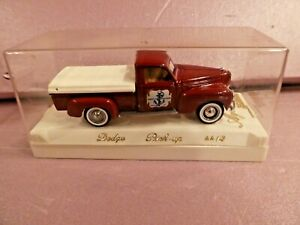 Solido Dodge Pick Up Ship Chandlers Foster CO #4413 Age d'or 1:43 Scale NIB