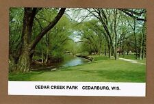Cedarburg,WISCONSIN WI Cedar Creek Park
