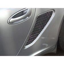 Zunsport Polished side mesh vent grille kit Porsche Boxster 987.1 05-12