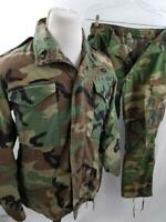 VTG Army Airborne XS Camouflage Field Coat Jacket w/ Pants M65 Cold Weather