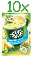 10 x KNORR Cheese Cup a Soup Instant Soup with Croutons
