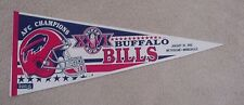 1992 SUPER BOWL XXVI SB 26 BUFFALO BILLS GAME DAY Pennant Unsold Stock