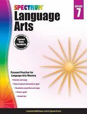 Spectrum Language Arts, Grade 7 (2014, Paperback)