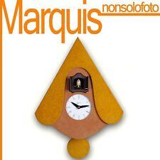 orologio a cucù art. 105 giallo     orologi pirondini