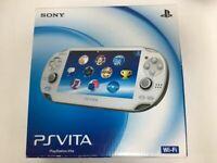 Sony PS Vita PlayStation Vita Console PCH-1000 ZA02 Crystal White JAPAN GAME F/S