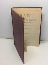 1871-Carlo D'Arco:STUDI INTORNO AL MUNICIPIO DI MANTOVA-VOLUMI I e II