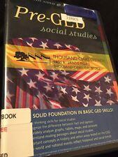 Video Aided Pre GED Social Studies 2 DVD SET