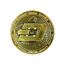 Dash Gold Cryptocurrency Collectors Coin