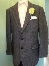 HARRIS TWEED JACKET SIZE 42 M COUNTRY HACKING RACES MADE IN UK ST MICHAEL VGC