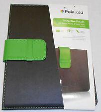 POLAROID Protective Pouch BLACK Green APPLE iPad 2 & new iPad SLIM NEW