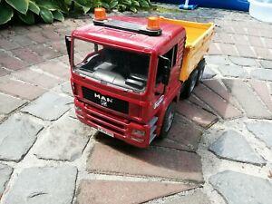 Bruder MAN TGA Kipplastwagen / Kipper / LKW / Baustellenfahrzeug