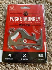 Zootility Pocketmonkey Really Thin Multi-Tool Fits In Wallet