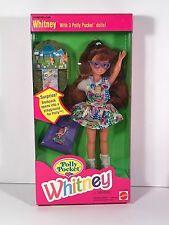Barbie - 1994 Mattel - Polly Pocket Whitney w/ Backpack - NRFB