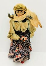 Israel 1950's Vintage Hand Made doll of a Bedouin Women