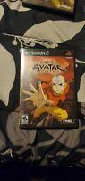 Avatar: The Last Airbender (Sony PlayStation 2, 2006) PS2 manual has water damag