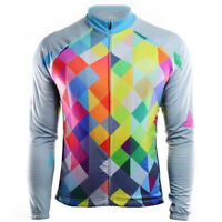 Cycling Jersey Jacket Long Sleeve MTB Bike Motocross Shirt Clothes Bicycle Suit