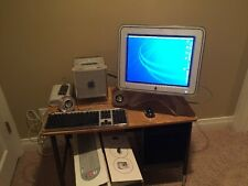 Power Mac G4 Cube and Studio Display with original Boxes