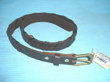 BELT brown laced, soft BRIDLE LEATHER , NWT from NBS