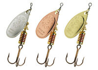 Mepps Aglia Spinners Silver Gold Copper All Sizes